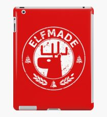 Christmas - Elf Made (Red) iPad Case/Skin