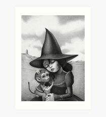 Lullaby for a Witch Art Print