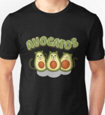 Avocado Gifts > Funny Avocado Cats > Avogatos > Avocado Slim Fit T-Shirt