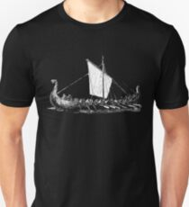 Viking Motive > Viking Boat > Long Boat Unisex T-Shirt