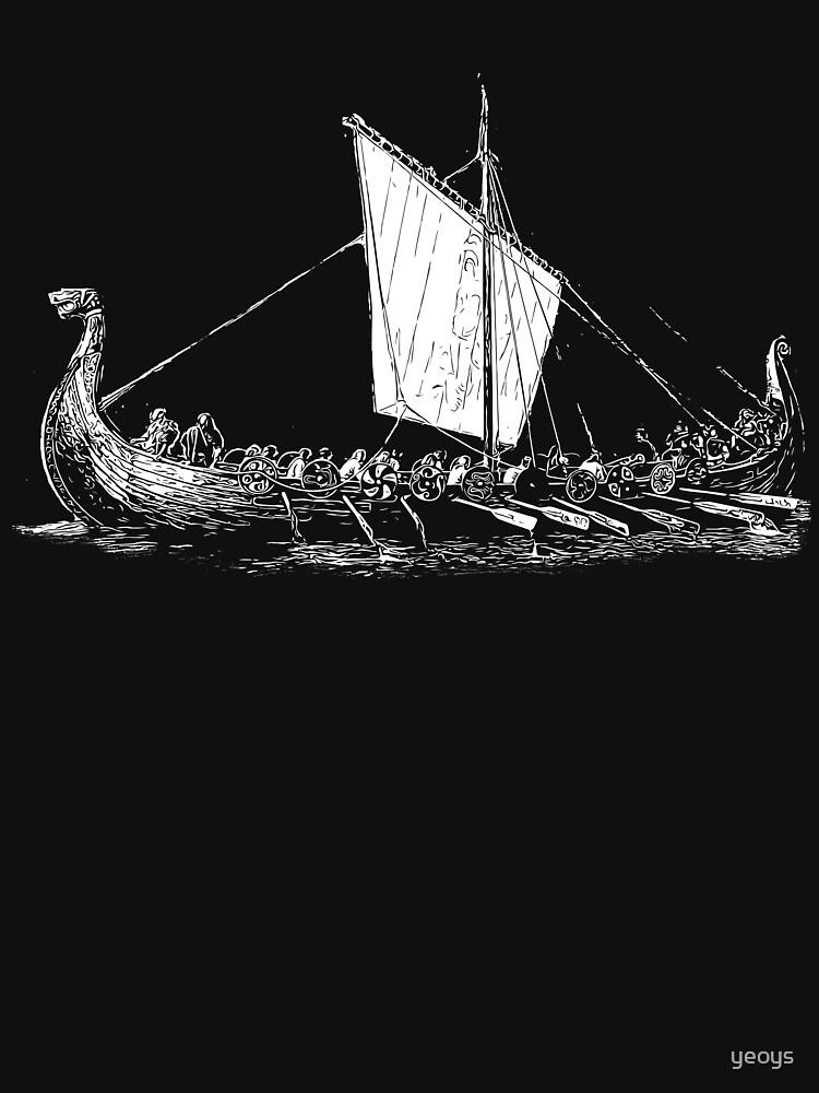 Viking Motive > Viking Boat > Long Boat von yeoys