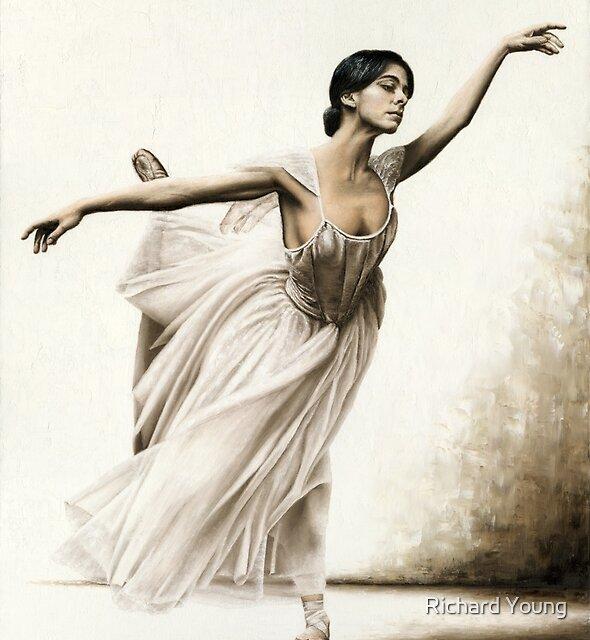 Demure Ballerina by Richard Young