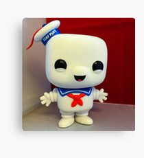 Marshmallow Man Canvas Print