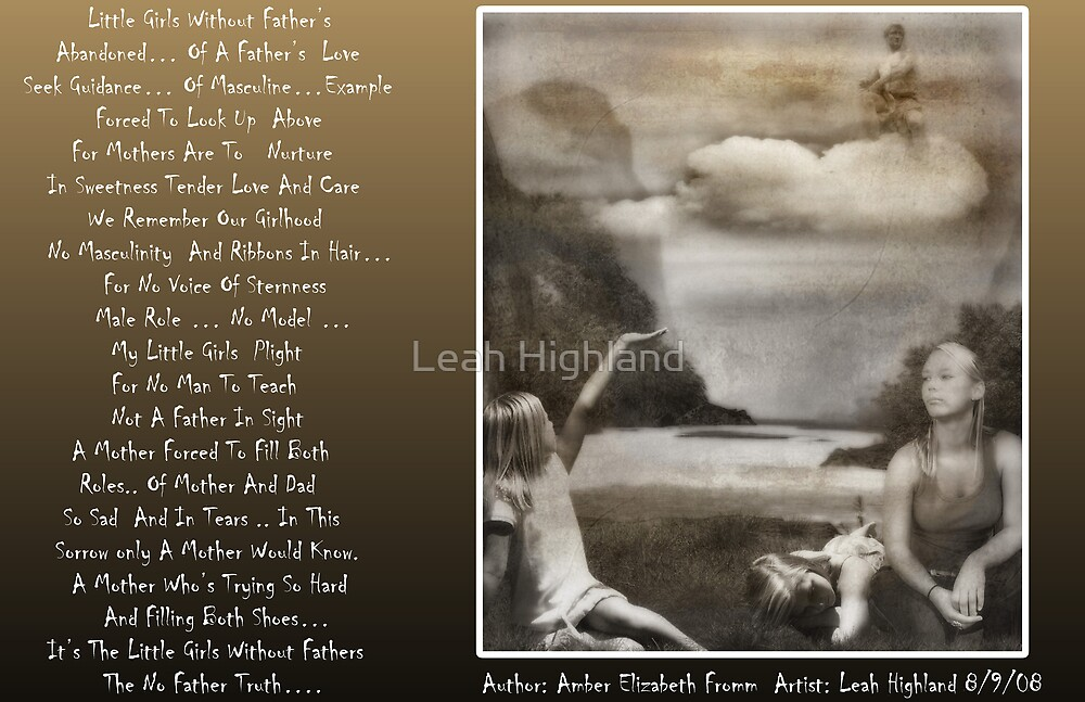 Little Girls Without Fathers by Leah Highland