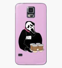 Funda/vinilo para Samsung Galaxy Cara de fantasma