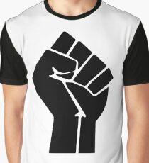 Raised Fist / Black Power Symbol Graphic T-Shirt
