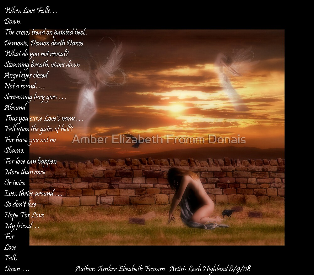 When Love Falls Down  by Amber Elizabeth Fromm Donais