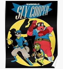 Sly Cooper Group Poster