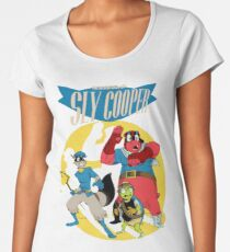 Sly Cooper Group Women's Premium T-Shirt