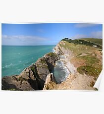 Stair Hole Poster