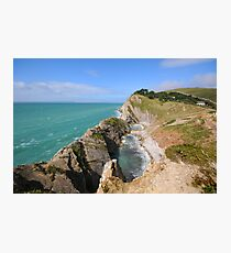 Stair Hole Photographic Print