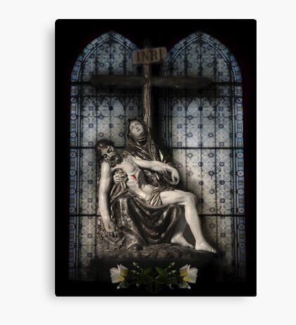 """Pietá...Flesh&Spirit"" Canvas Print"
