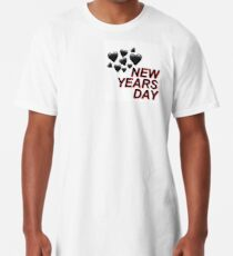 New Years Day Long T-Shirt
