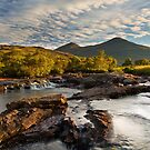 Coladoir River. Sunrise. Isle of Mull. Inner Hebrides. Scotland. by PhotosEcosse