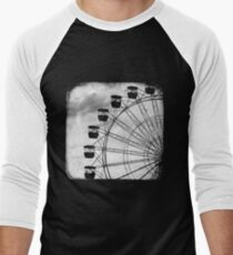 Ferris Wheel - TTV Men's Baseball ¾ T-Shirt