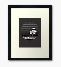 Inverted World Framed Print