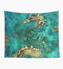 Koi Pond Wall Tapestry