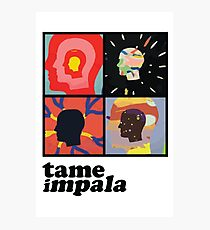 TAME IMPALA - HEADS Photographic Print