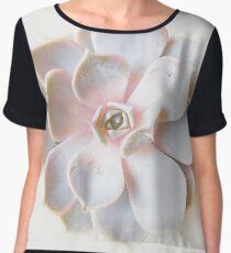 Pink Succulent II Women's Chiffon Top