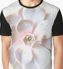 Pink Succulent II Graphic T-Shirt