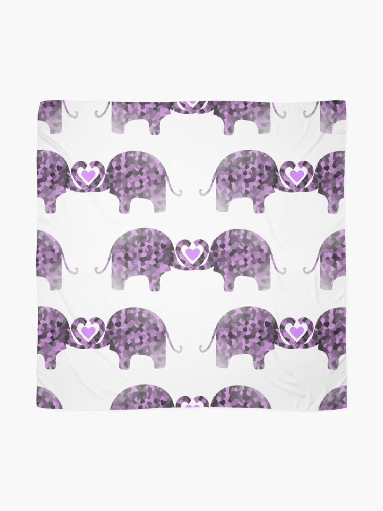Alternate view of Romance And Elephants Scarf