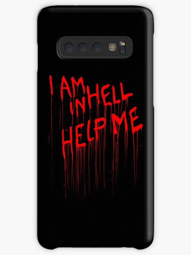 Hellraiser Help Me Case Skin For Samsung Galaxy By Unconart