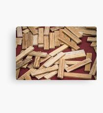 wooden toys for children Canvas Print