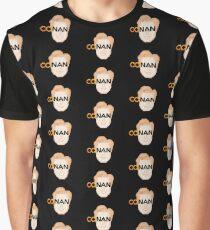 Conan O'Brien Pixel Graphic T-Shirt