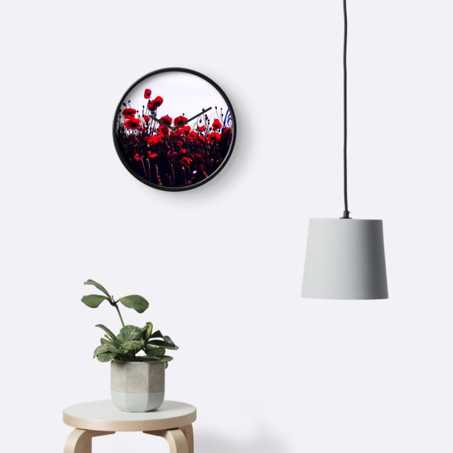 Sea of Poppies #trending #clocks by cadinera