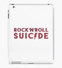 Rock'n'Roll Suicide iPad Case/Skin