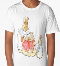 Nursery Characters, Peter Rabbit, Beatrix Potter  Long T-Shirt