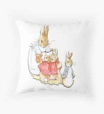 Nursery Characters, Peter Rabbit, Beatrix Potter. Floor Pillow