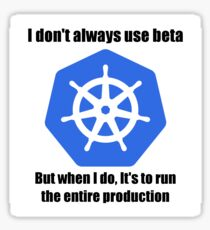 Kubernetes Beta Sticker