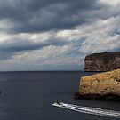 Storm Approaching Gozo by Christian  Zammit