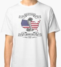 Mustang Shelby - Congratulations to 50 Years Classic T-Shirt