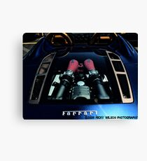 Engine Canvas Print