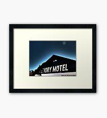 Memory Motel Framed Print
