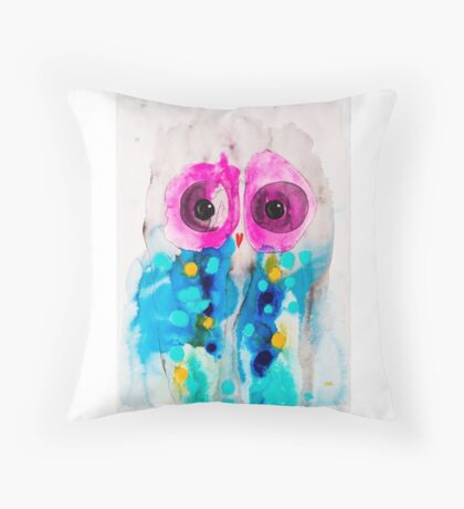 Moments Owl Throw Pillow