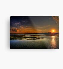 Approaching Sunset Metal Print