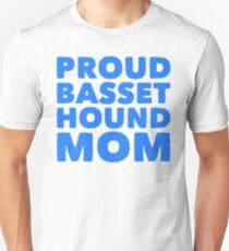 proud basset hound mom Unisex T-Shirt