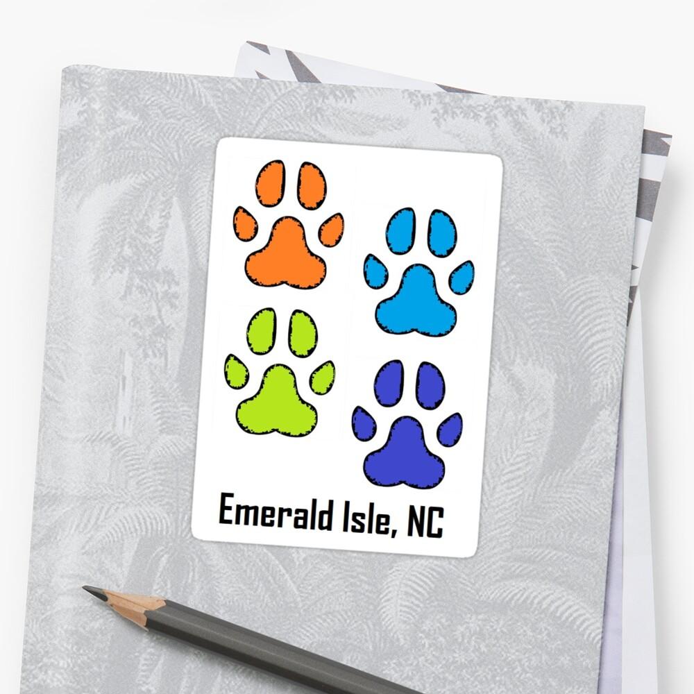 Dog Paws  (Emerald Isle, NC) by barryknauff