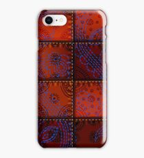 Patchwork Pattern 17 iPhone Case/Skin