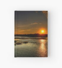 Approaching Sunset Hardcover Journal