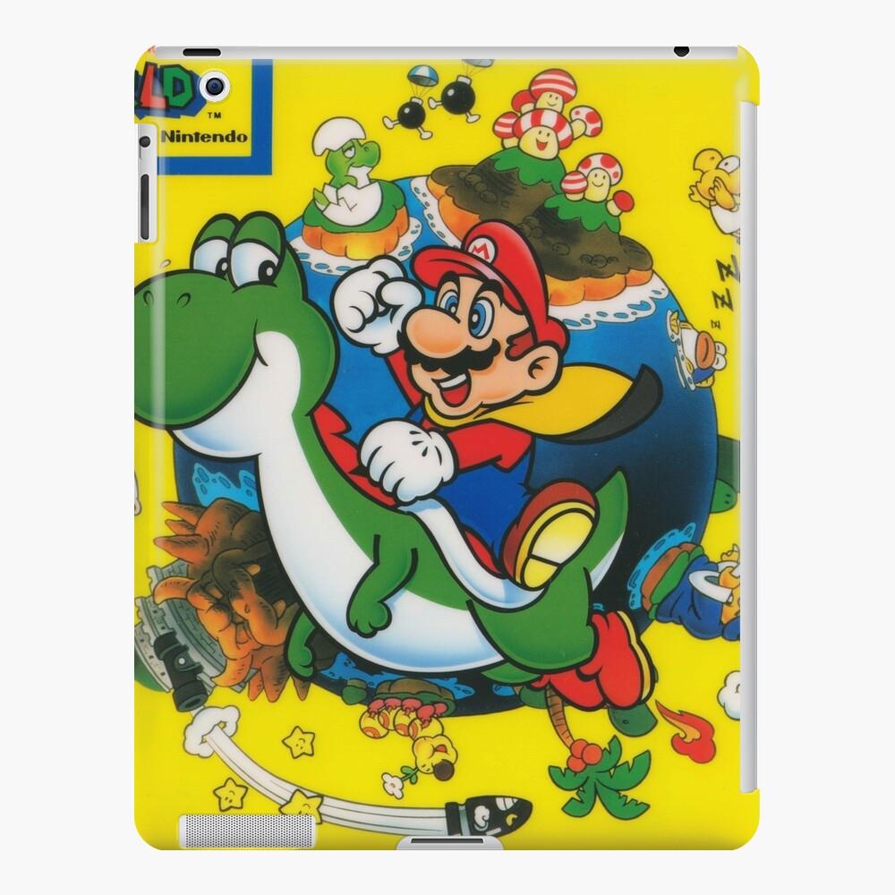 Super Mario World Print Funda y vinilo para iPad
