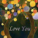 Love Tree by Ujean1974
