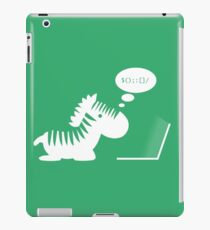 Programming zebra iPad Case/Skin