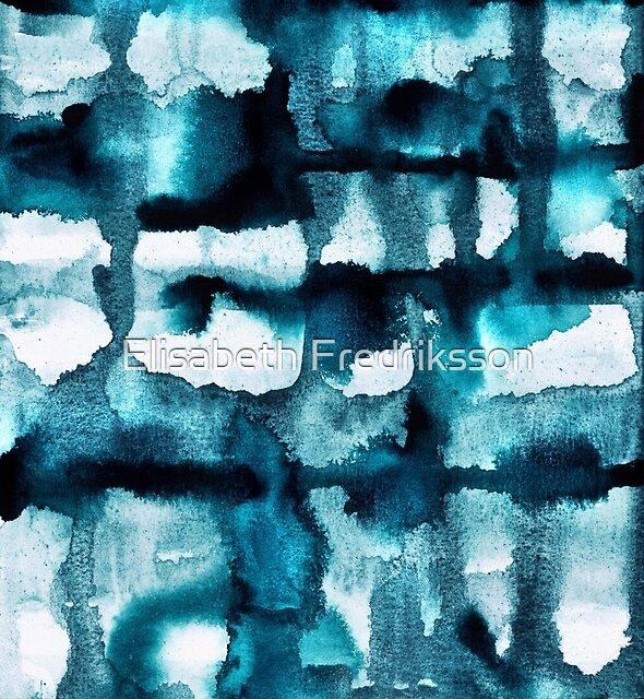 « Aquarelle 03 - Mer Sauvage » par Elisabeth Fredriksson