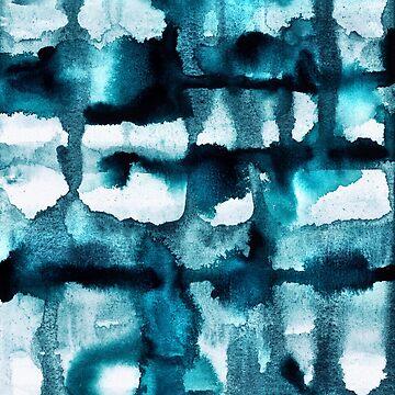 Aquarell 03 - Wildes Meer von foto-ella