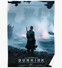 Official poster 1 - DUNKIRK Poster