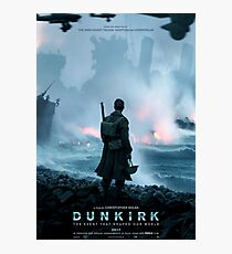 Official poster 1 - DUNKIRK Photographic Print